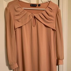 Very pretty peach blouse